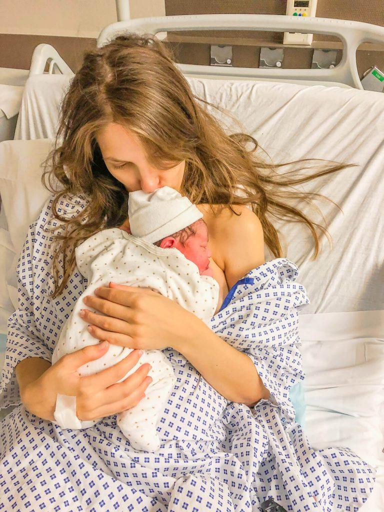 Mon accouchement : bienvenue au monde mon bébé Tina